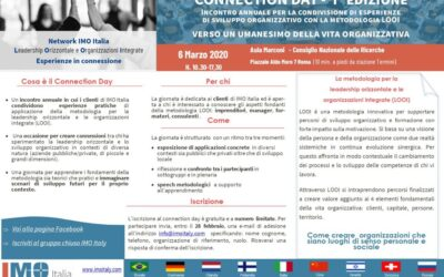 6 MARZO 2020: Evento aperto per conoscere e condividere esperienze di LOOI